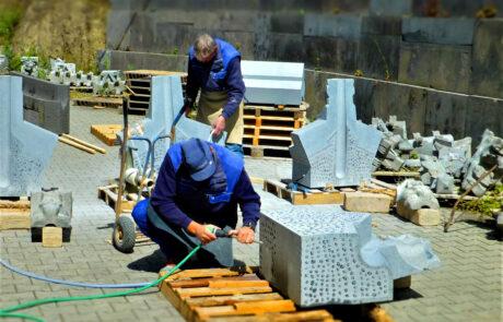 Steinmetzwerkstatt